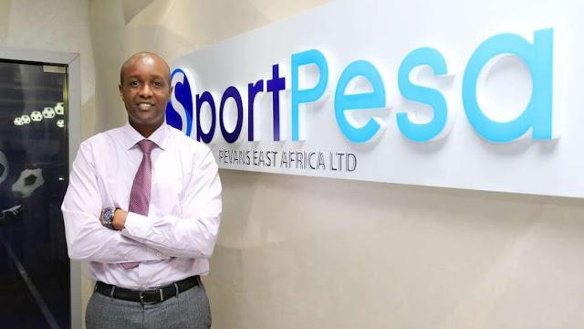 Sportpesa and Pevans E.A CEO Ronald Kararuri