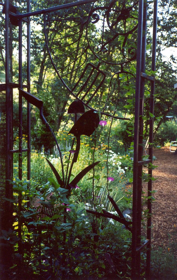 Prairie Star Designs Garden Trellises