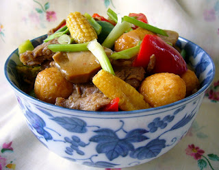 MIX VEGE WITH BEEF