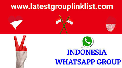 Join Latest Indonesia Whatsapp Group Link 2021