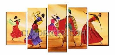 http://www.cuadricer.com/cuadros-pintados-a-mano-por-temas/cuadros-africanos/africanos-bailando-etnicos-calidos-acogedor-cuadros-modernos-espana-2238-salones-comedores-cocinas.html