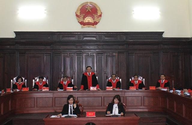 Thẩm quyền xét xử là riêng biệt, Công an không được đánh giá hay sự kết tội nào