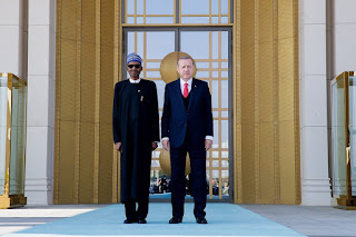 President Buhari Lays Wreath at the Tomb of Turkey's Founding Father (Photos)