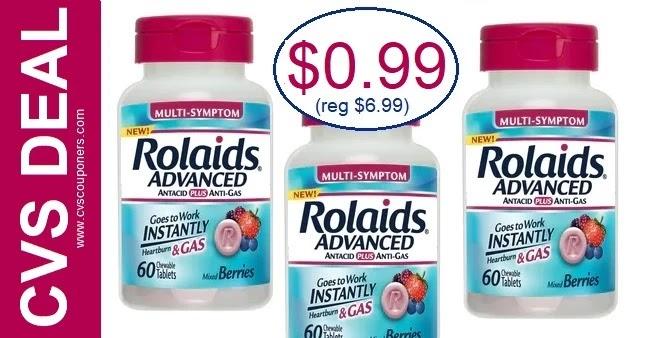 Rolaids Antacid Chewables CVS Deal 2-28-3-6