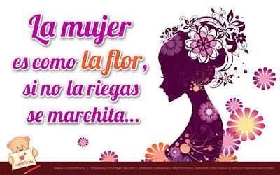 Frases lindas para el Día de la Mujer