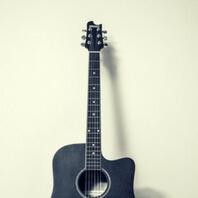 Guitarra acústica de modelo jumbo