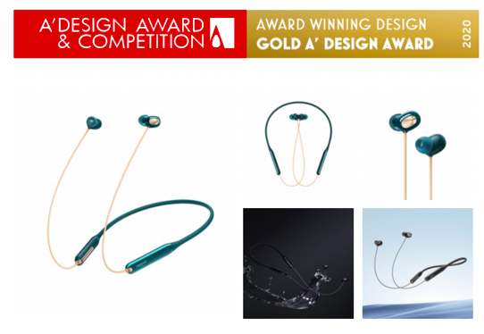 OPPO Wireless Headphone models win 2 Gold, 1 Platinum in A'Design Awards