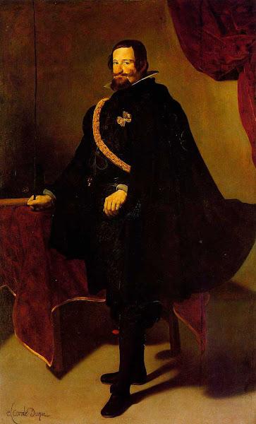 Диего Веласкес - Дон Гаспар Гузман граф Оливарес (1622 - 1627)