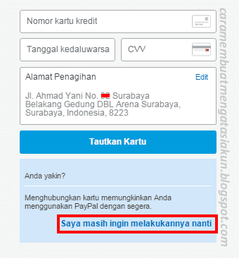 Ads.id Verifikasi Paypal