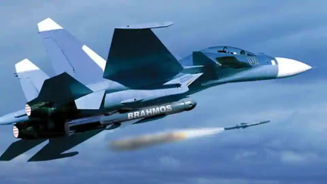 IAF's Aircraft SU-30 MKI with brahmos