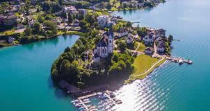 Maria Wörth - Lago Woerthersee, Áustria