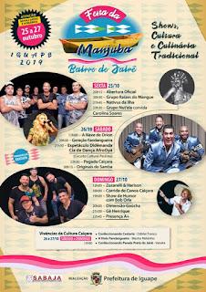 Festa da Manjuba do Jairê  2019 em Iguape