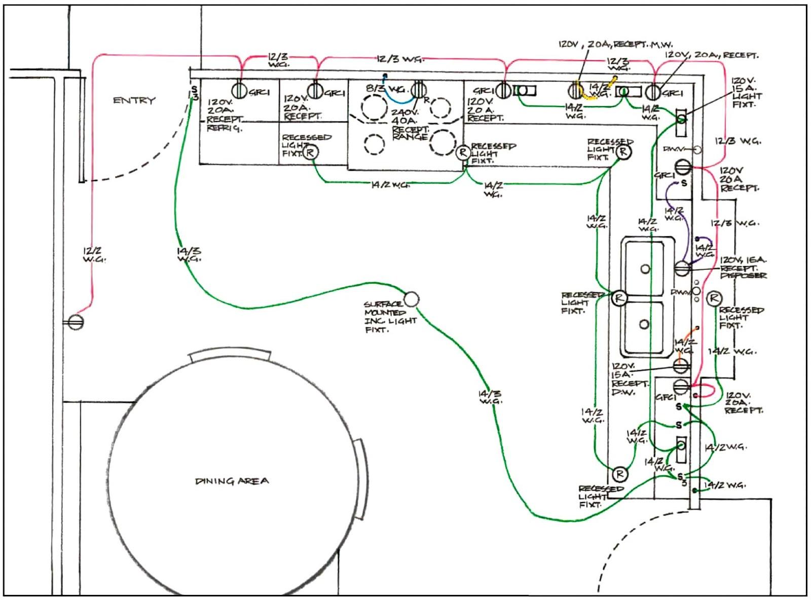 Instalaciones El Ctricas Residenciales 7 Circuitos Para