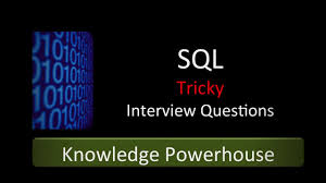 SQL Tricky Interview Questions Preparation Course