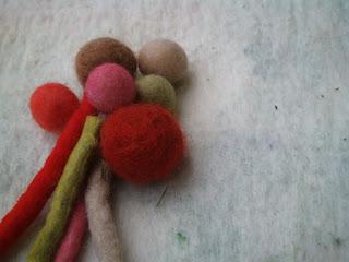 tingimento lã feltrada