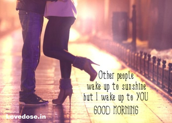Best Good Morning messages to Him with images