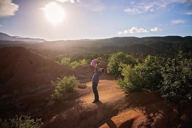 Garden of the Gods Colorado Family Photographer