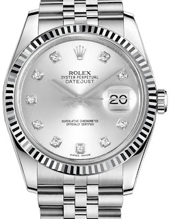 Pajak Rolex (Rolex Datejust-36-Silver-Diamond-Dial-Full-Set-116234)-RM24,000