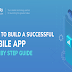 What the Mobile App Development Process Looks Like #infographic
