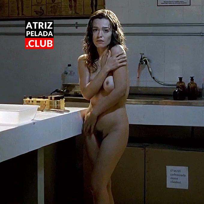 """Karine Carvalho PELADA no filme """"Brasília 18%"""""""