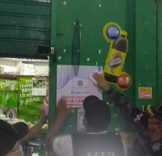 Autoridades dicen clausuran negocios por incumplimiento medidas COVID 19