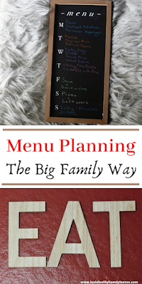 Menu Planning for a Big Family with a variety of Dietary Restrictions