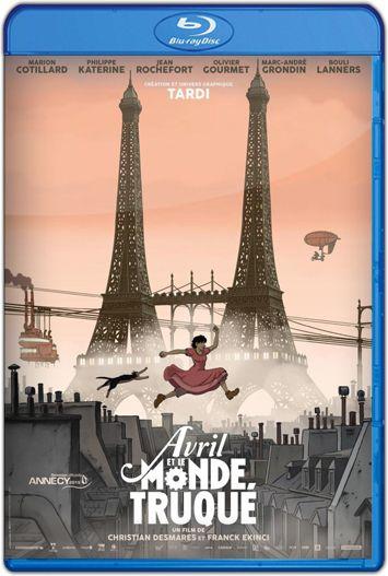Abril y el mundo extraordinario (2015) HD 1080p y 720p Latino