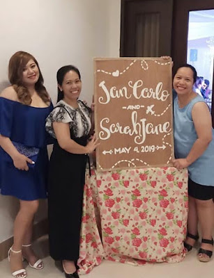 DIY Wedding Philippines - Welcome Board