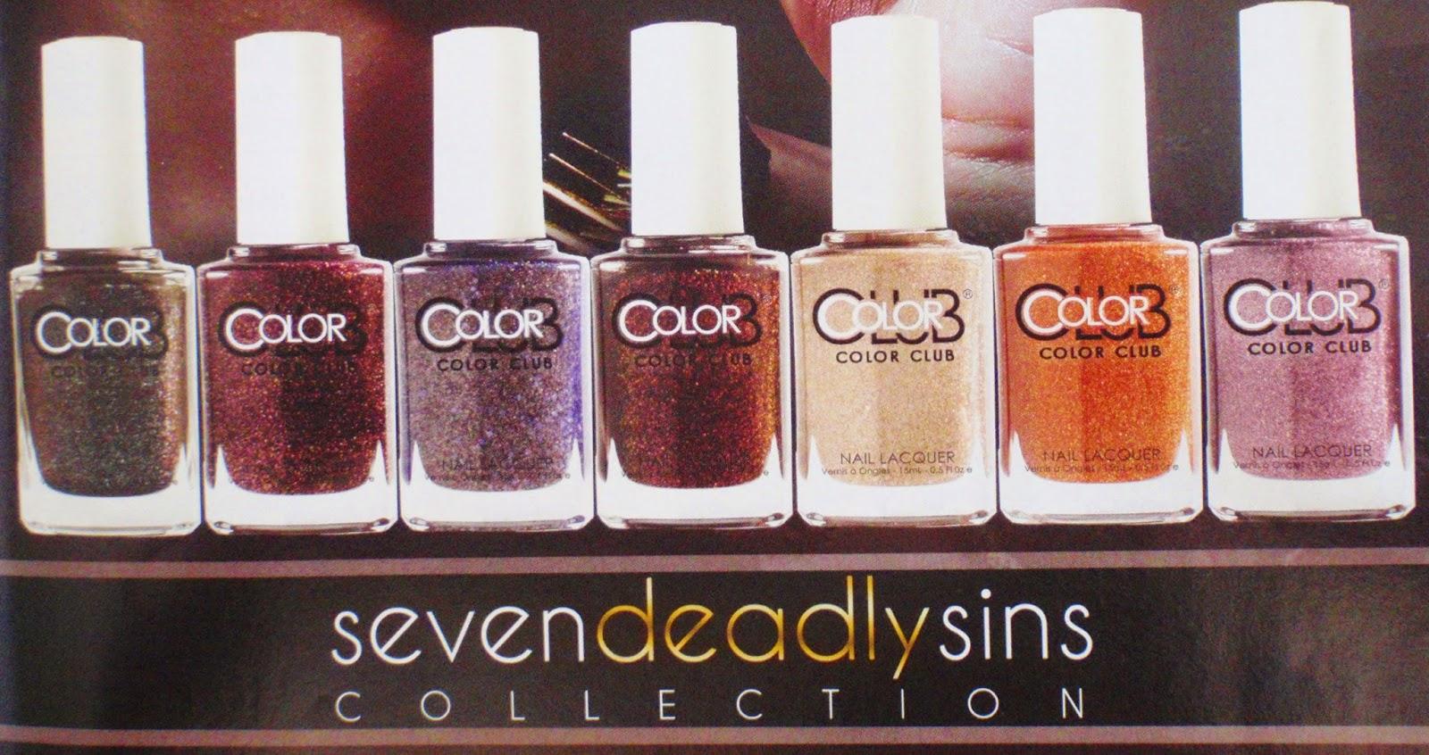 color club 7 deadly sins