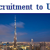 Staff Recruitment to UAE - Oil & Gas Contracting Company
