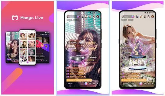 Main Features of Mango Live