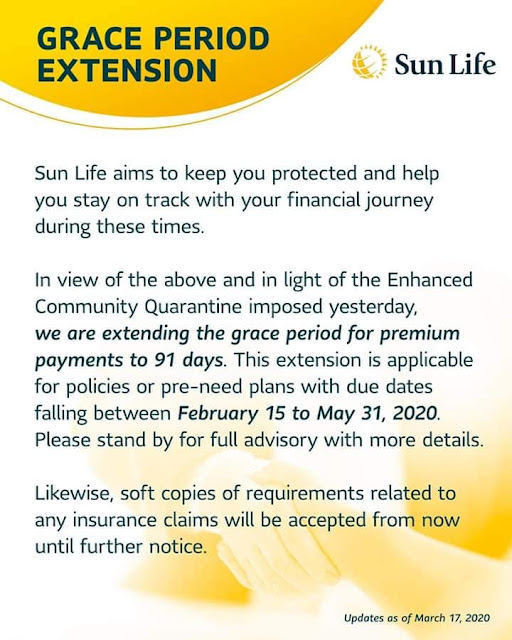 Sunlife Financial Bills Payment Extension