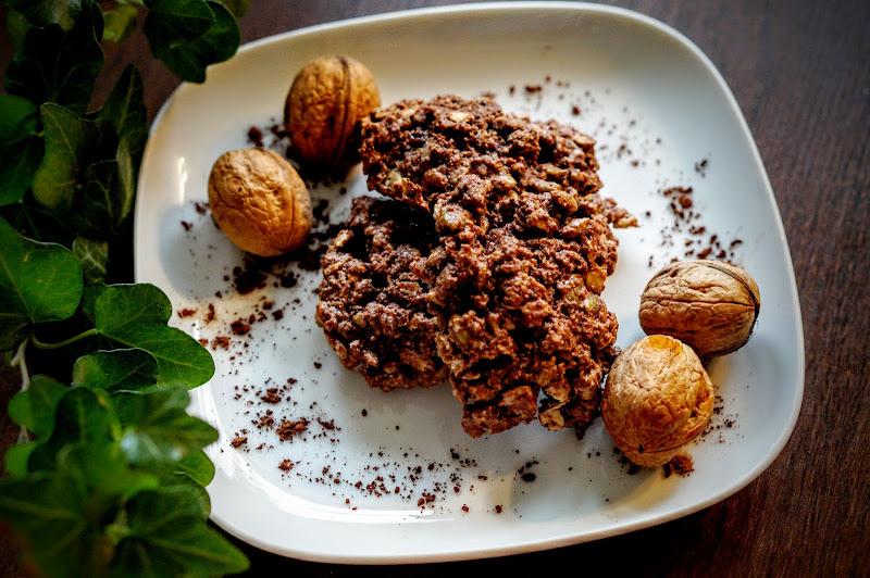 Owsiano-kakaowe ciasteczka