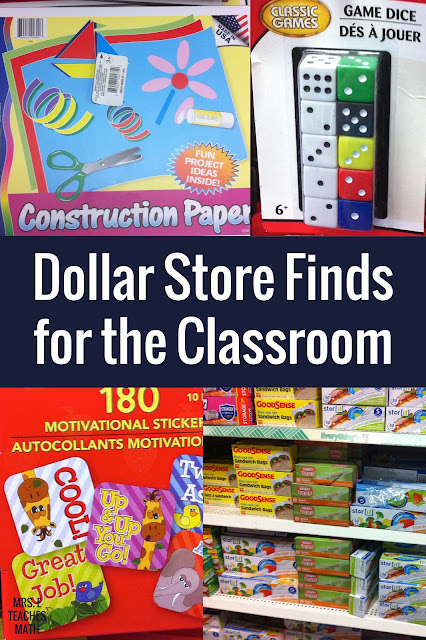 Here are some great dollar store ideas and hacks for teachers!  I love these ideas for organization, crafts, and projects!