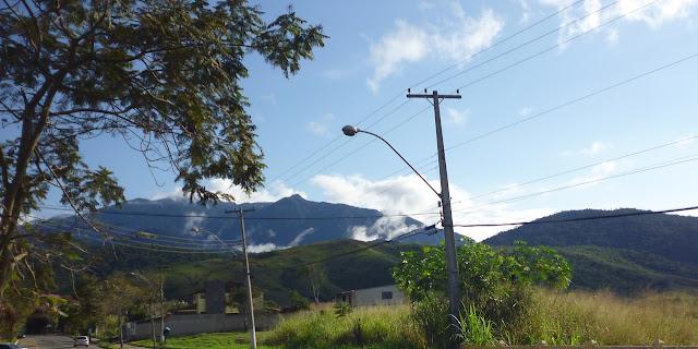 Estrada para Parque Nacional de Itatiaia