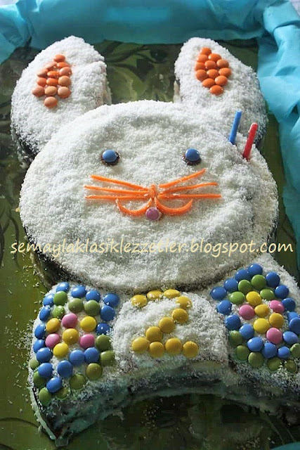 Tavşan Doğum Günü Pastası