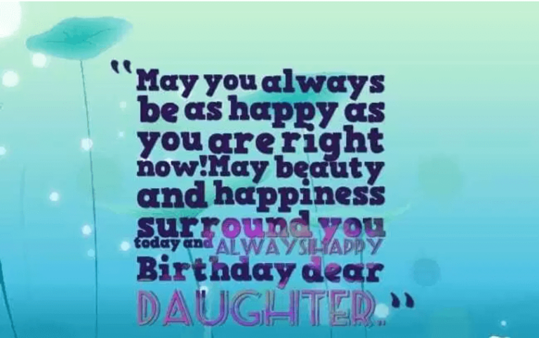 200 Happy Birthday Daughter Inspirational Wishes Quotes Messages Greetings 2019 Happy Birthday 2020