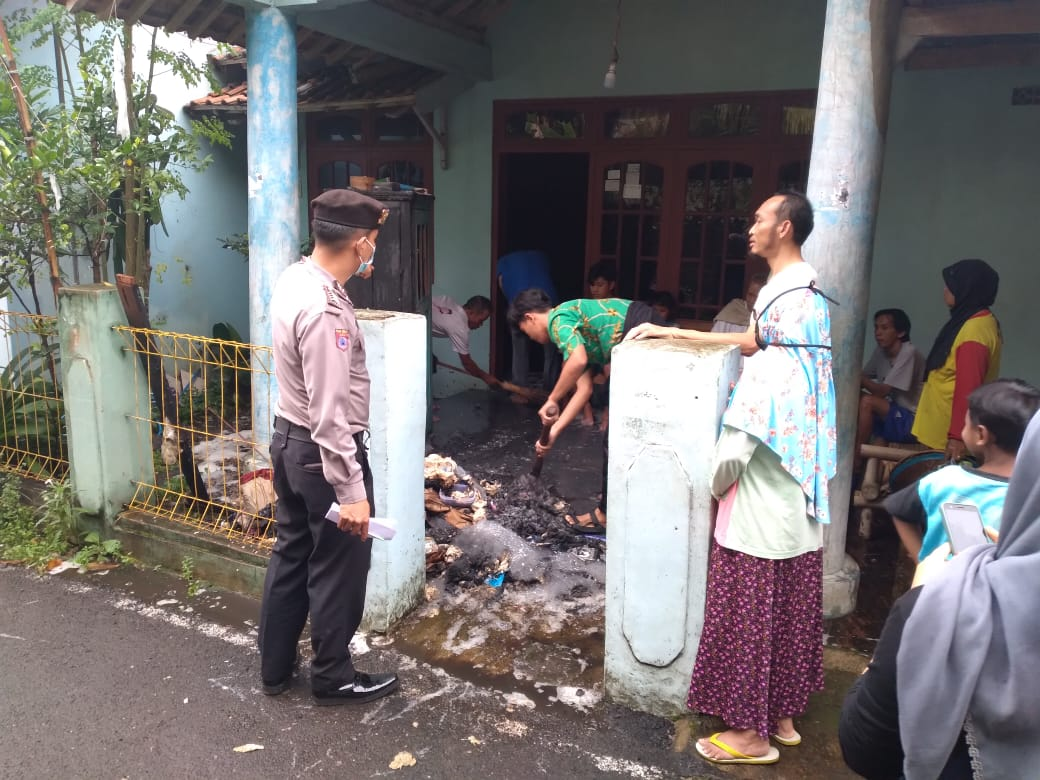Gara-gara Obat Nyamuk, Rumah di Padamara Hampir Terbakar