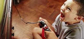اضرار الالعاب الالكترونية على الأطفال