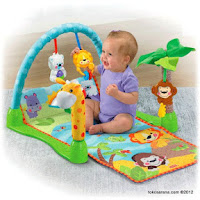 3 Fisher-Price Precious Planet™ MO-2407 Mix and Match Musical Gym
