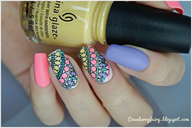 china glaze neony
