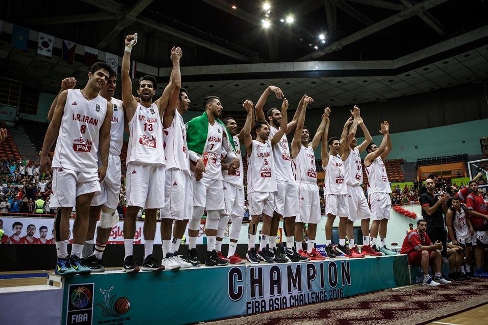FIBA Asia Challenge 2016 Final Standings