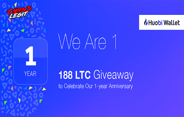 Houbi Wallet Big Give Away 188 Litecoin