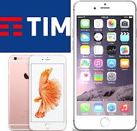 iphone con tim: offerte a rate con tariffa o senza e pagamento in soluzione unica