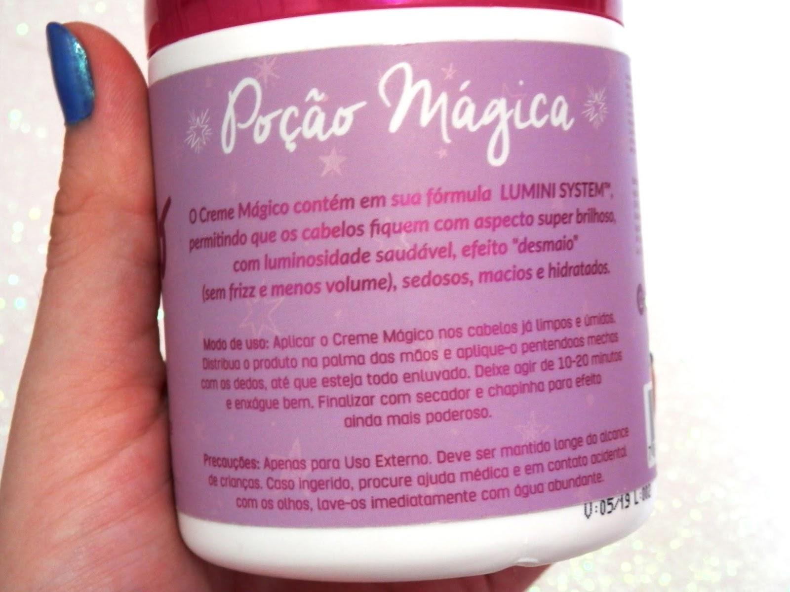resenha creme mágico retrô