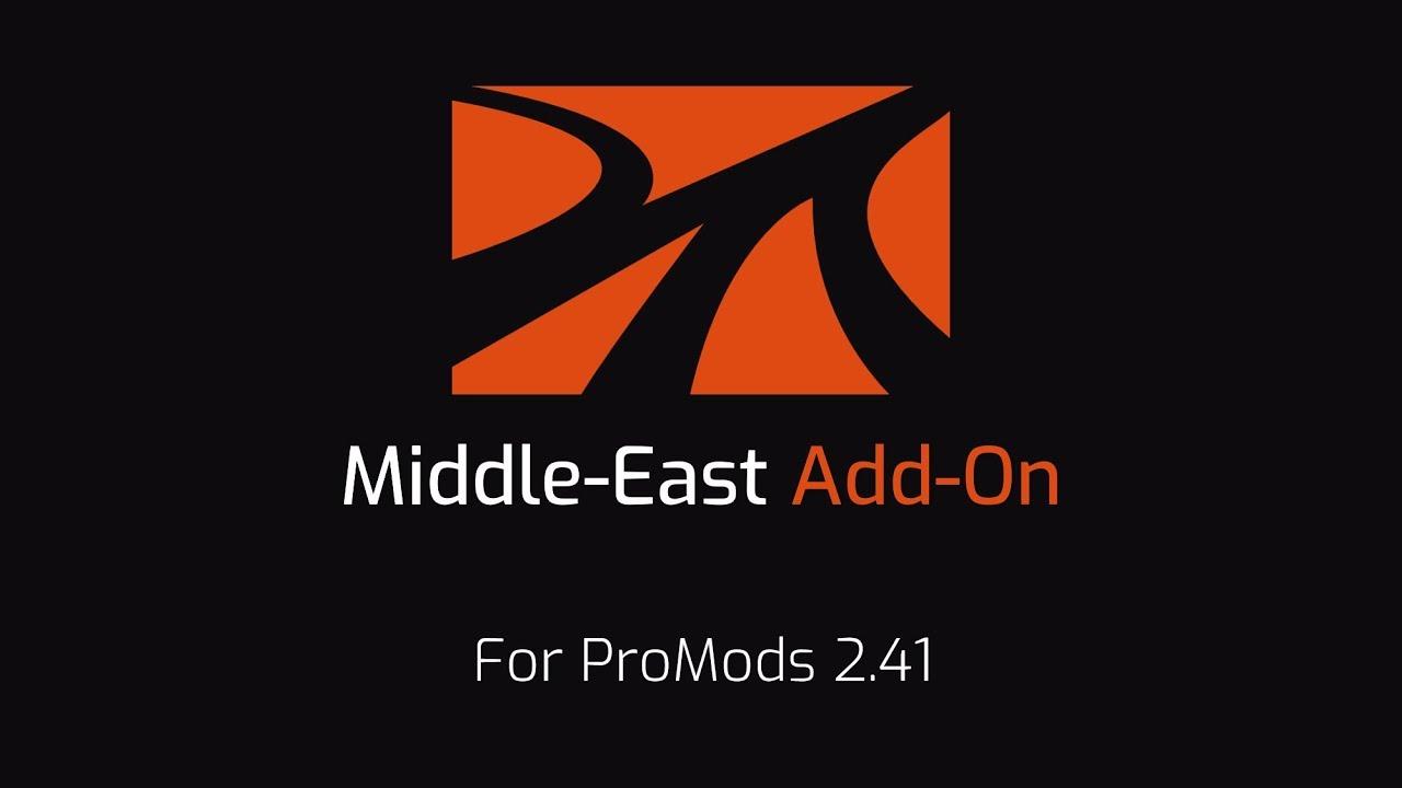 Euro Truck Simulator 2 ProMods 2.41 Ortadoğu Eklentisi