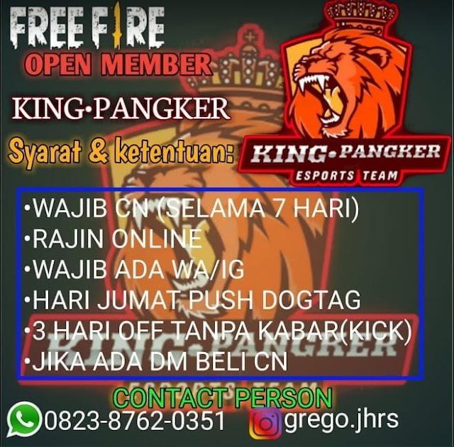 KING PANGKER