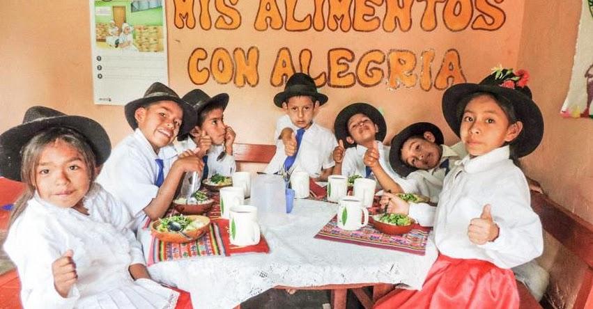 QALI WARMA: Escolares de Ayacucho recibirán alimentos del programa social desde el primer día de clases - www.qaliwarma.gob.pe