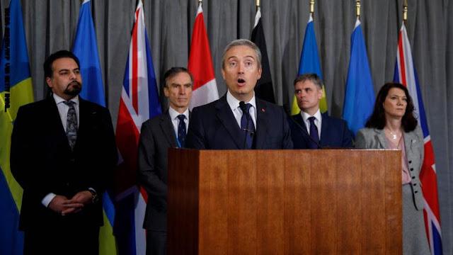 تعرف على مطالب 5 دول من إيران في حادث الطائرة الأوكرانية