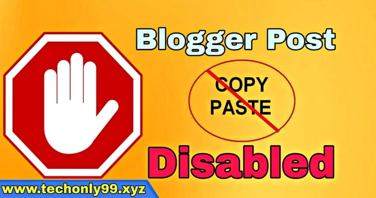Blogger Post Content Copy Hone se Kaise Bachaye - (100% Working Way) 2021